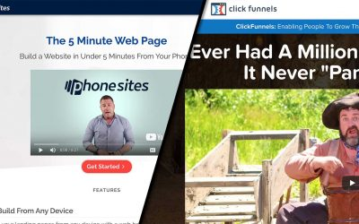 PhoneSites vs ClickFunnels Review